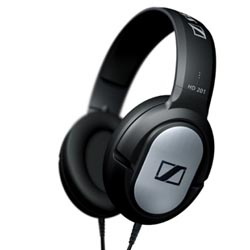 Tai nghe Headphones Sennheiser HD 201 DJ Professional, Tai nghe Headphone Headphone Sennheiser